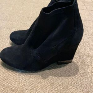 Tory Burch Wedge Booties size 6.5 US